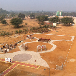 MUJ School of Architecture & Design Construction Yard