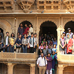 MUJ BArch Students  Visited Jaisalmer to Understand Indian Architecture