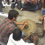 School of Architecture & Design Conducted Pottery Workshop  for Architecture Students at MUJ